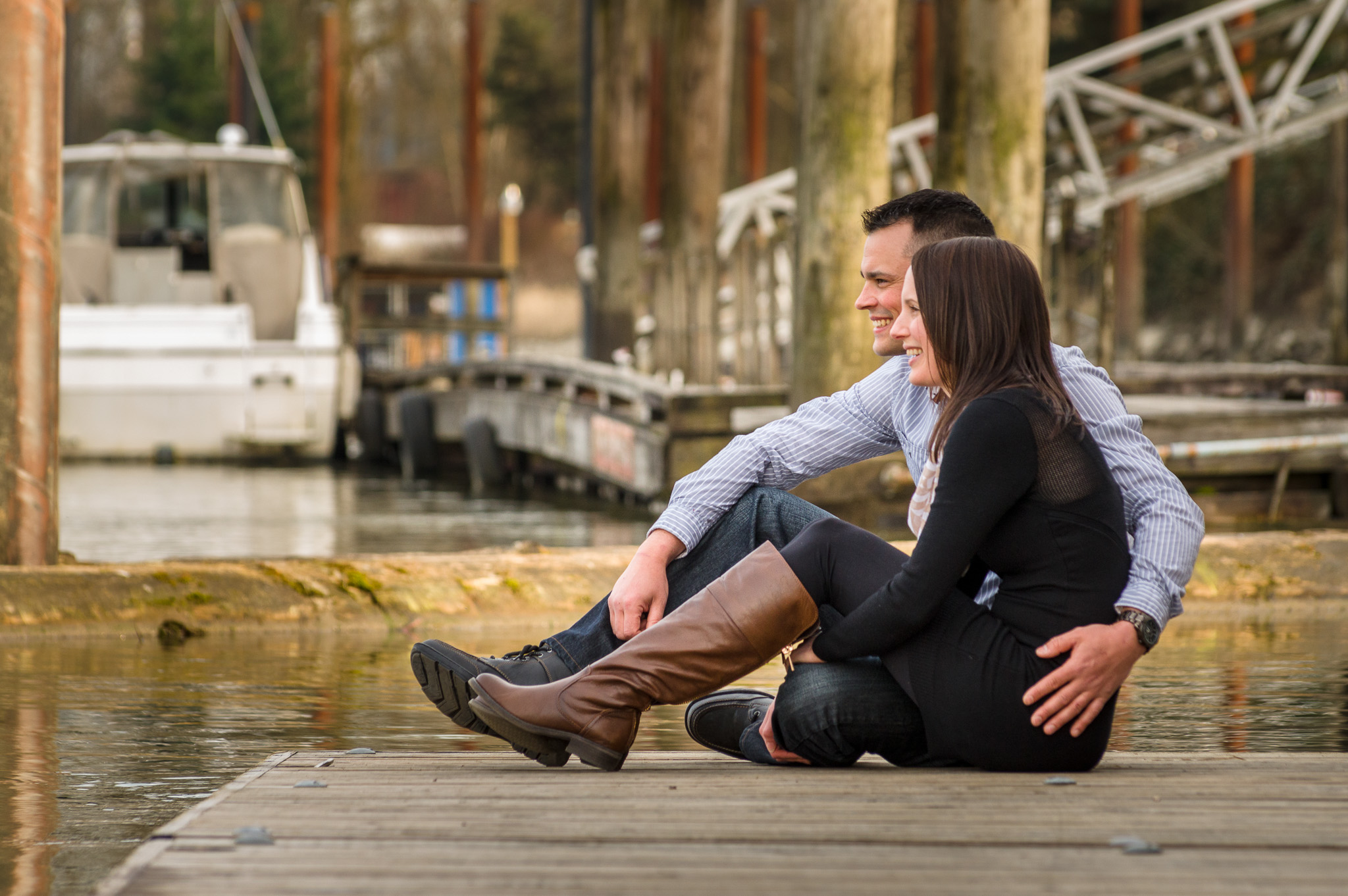 Engagement photography by Photographer Alan Bailward - http://bailwardphotography.com