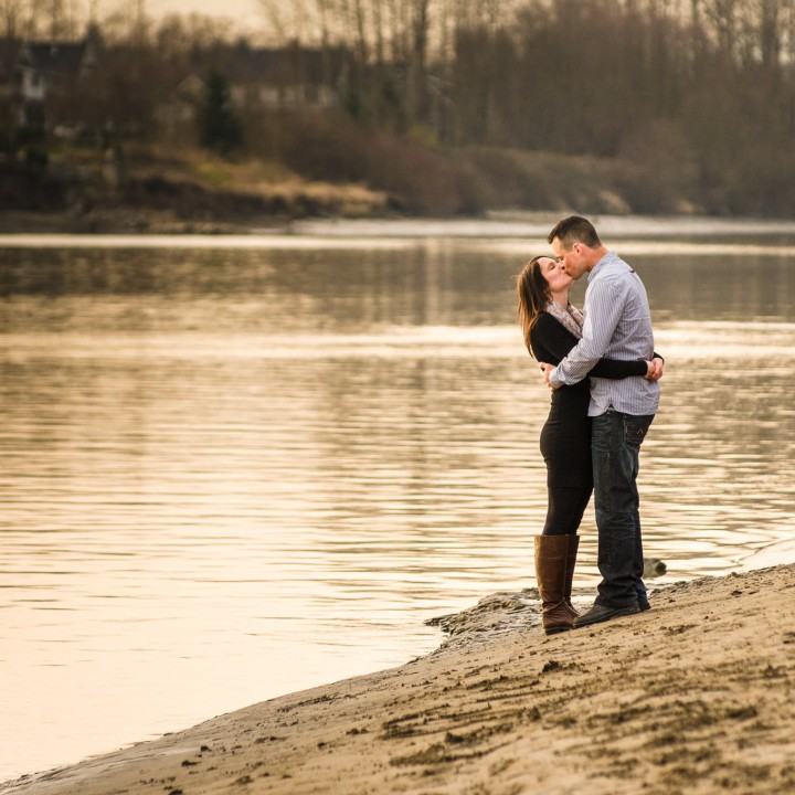 Amy and Jason - Fort Langley Engagement