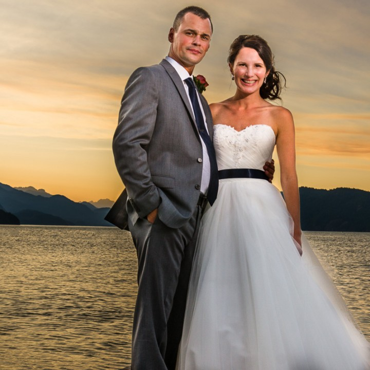 Amy and Jason - Harrison Hot Springs Wedding