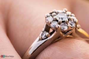 Engagement Ring macro photograph