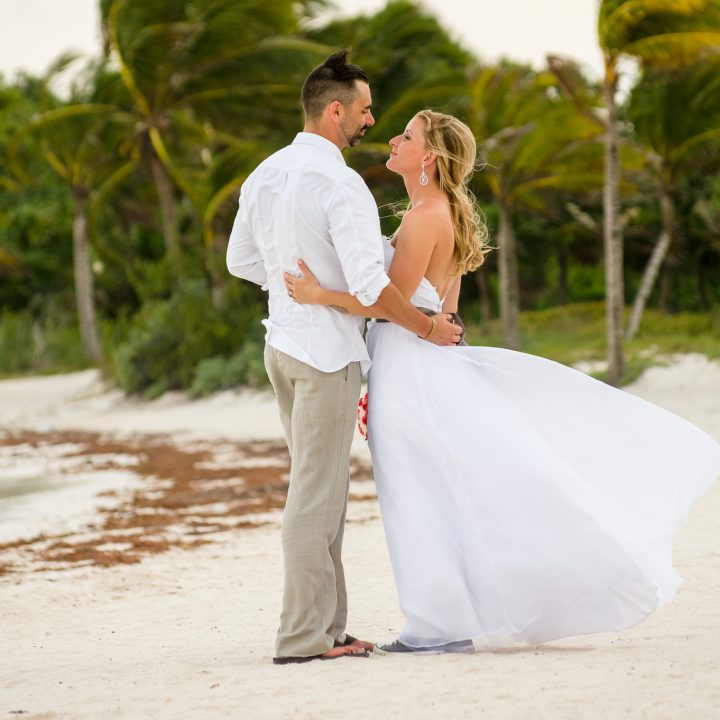 Destination Wedding at Barcelo Maya Beach Resort in Mexico - Tammy and Jason