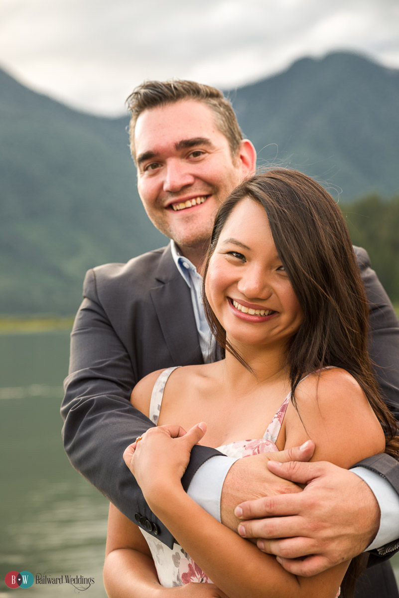 Joe and Rachel Engagement - Pitt Lake Engagement Photography