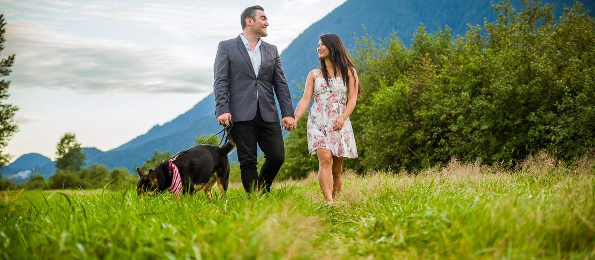 Joe and Rachel - Pitt Lake Engagement Photography