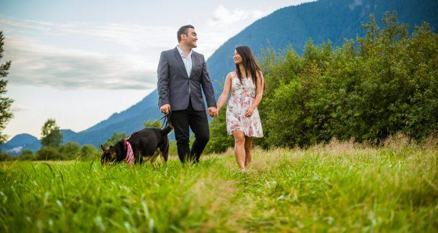 Joe and Rachel - Pitt Lake Engagement Photography