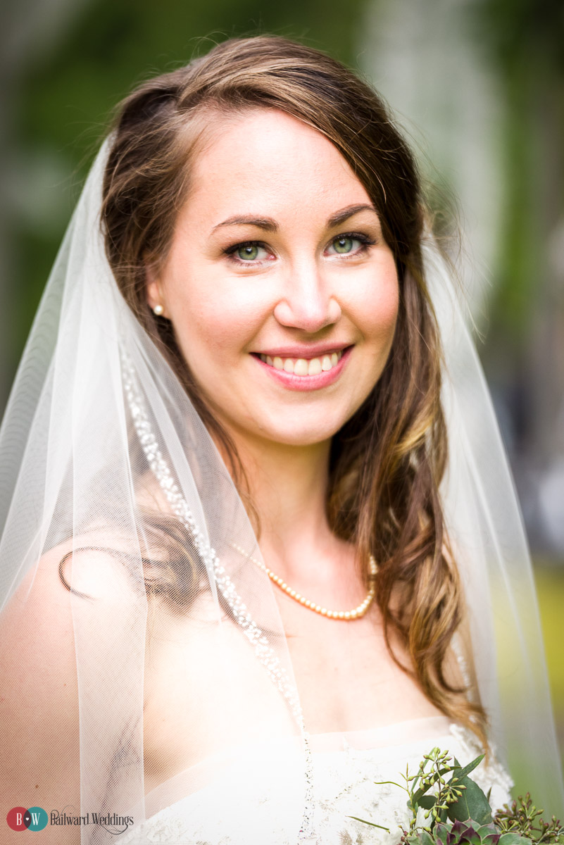 Bride formal portrait