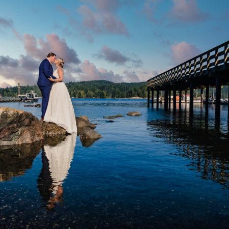 Caroline and Rob – Prestige Hotel Sooke Wedding